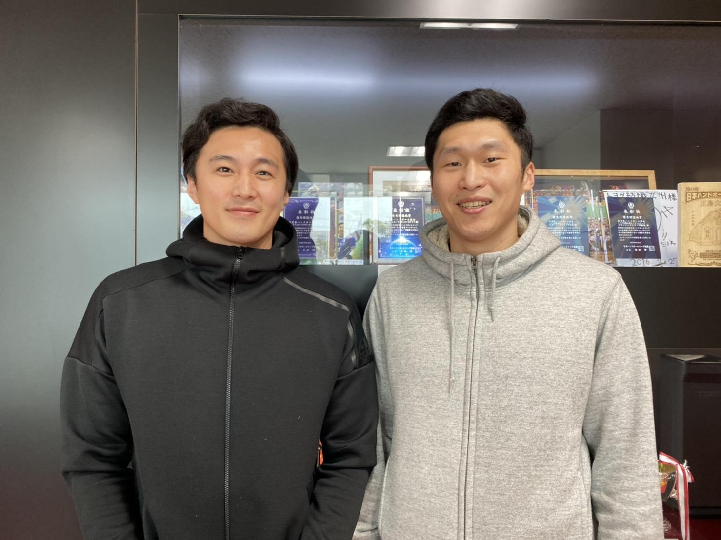 【チーム】朴、李選手が退団。パワフルなプレーとタフな精神力でチームをけん引(3月8日)