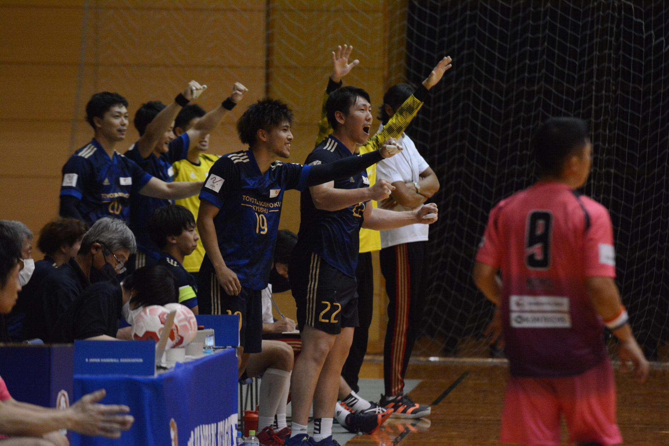 リーグ初戦、福岡撃破。好発進を切る