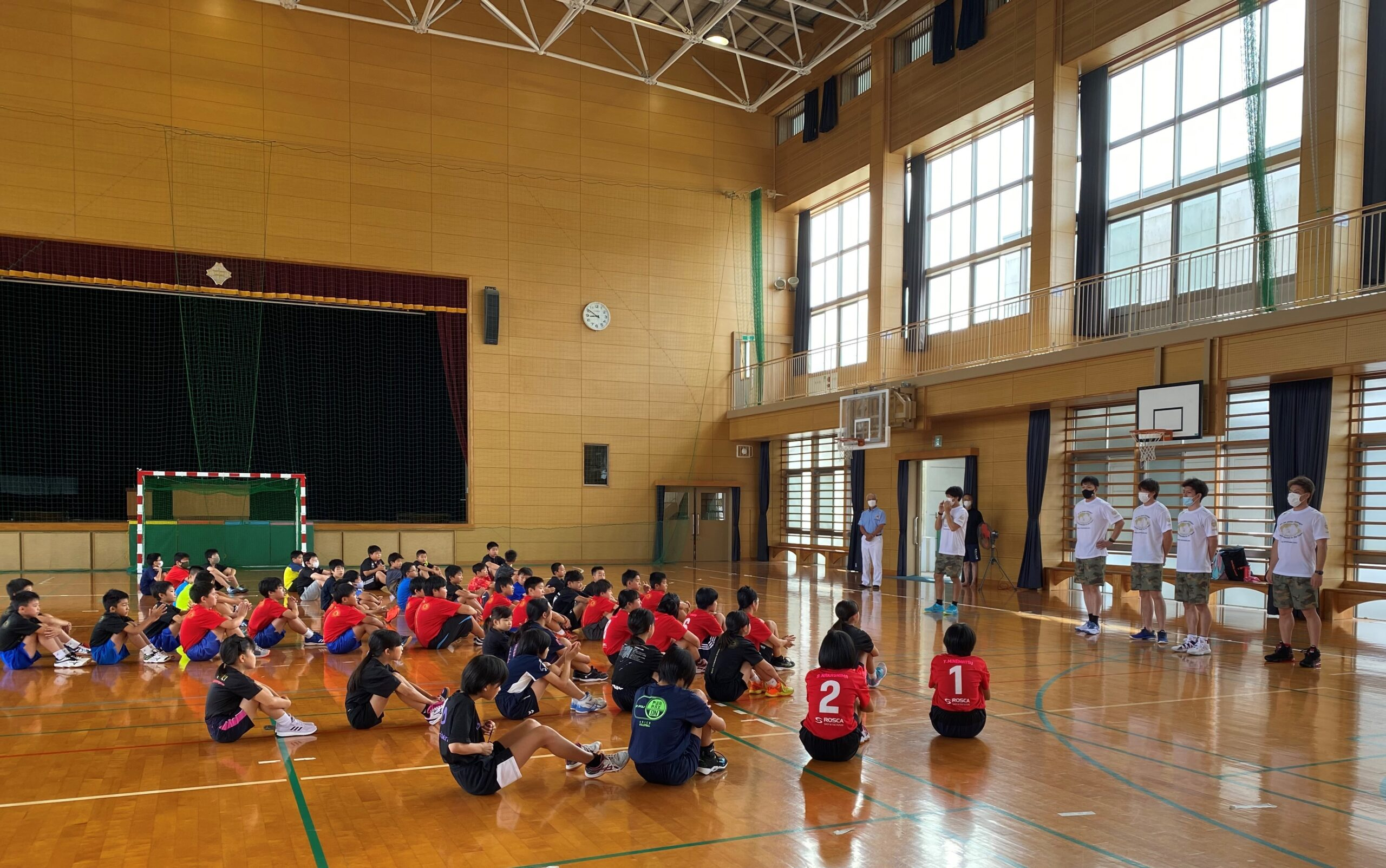 小学生プレーヤー対象に講習会@多久(7月25日)